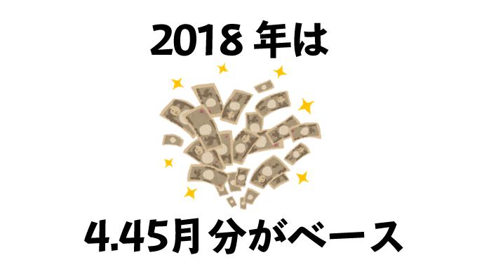 2018年の公務員のボーナス支給額についての見出しのアイキャッチ画像